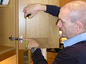 How To Measure The Hinge Hole Positions