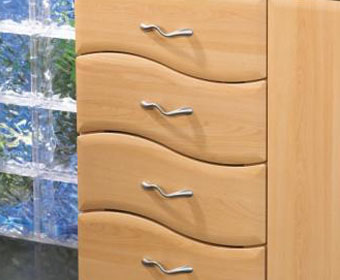Wave Drawer Fronts