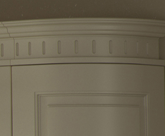 Traditional Curved Cornice