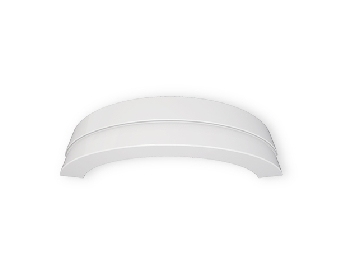 Curved Square Bullnose