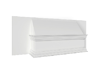 Plain Fronted Square Canopy (920mm)
