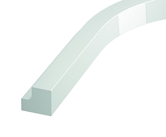 Internal Curved Square Cornice