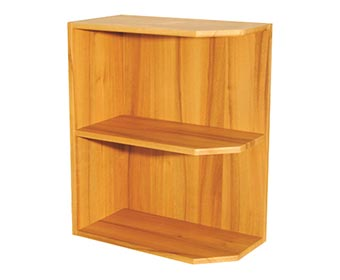 Base End Shelf Unit - Angled