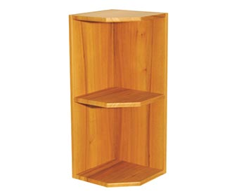 Wall End Shelf Unit - Angled