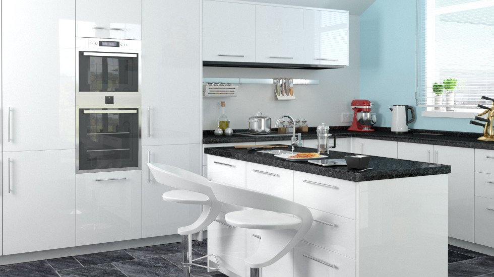 White Kitchen Doors replacement kitchen doors | made to measure | from £2.99