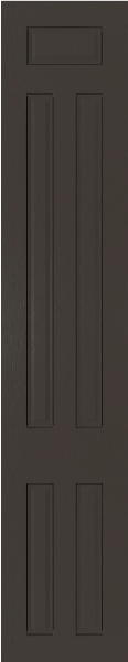 Broadway Opengrain Dark Grey Bedroom Doors