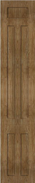 Broadway Pippy Oak Bedroom Doors