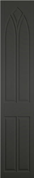 Gothic Matt Graphite Bedroom Doors