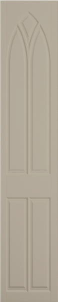 Gothic Matt Mussel Bedroom Doors