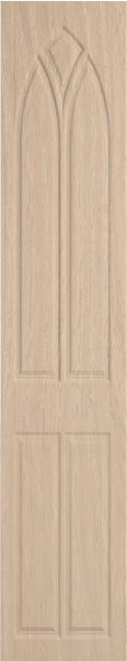 Gothic Moldau Acacia Bedroom Doors