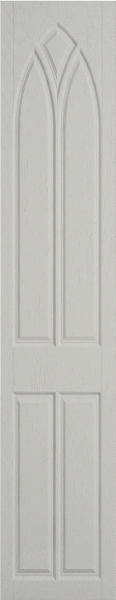 Gothic Oakgrain Grey Bedroom Doors