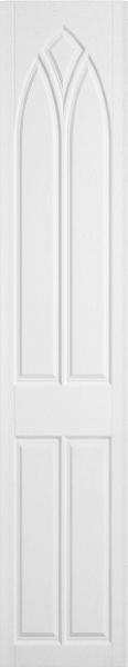 Gothic Opengrain White Bedroom Doors