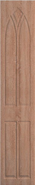 Gothic Sonoma Natural Oak Bedroom Doors