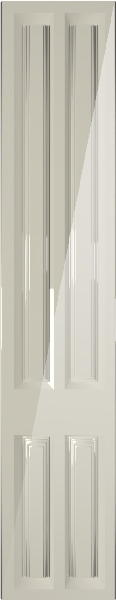 Milano High Gloss Cream Bedroom Doors