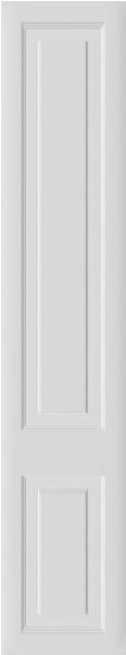Oxford Porcelain White Bedroom Doors