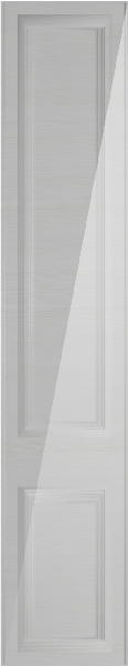 Palermo High Gloss Snow Larch Bedroom Doors