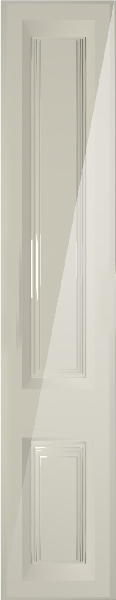 York High Gloss Cream Bedroom Doors