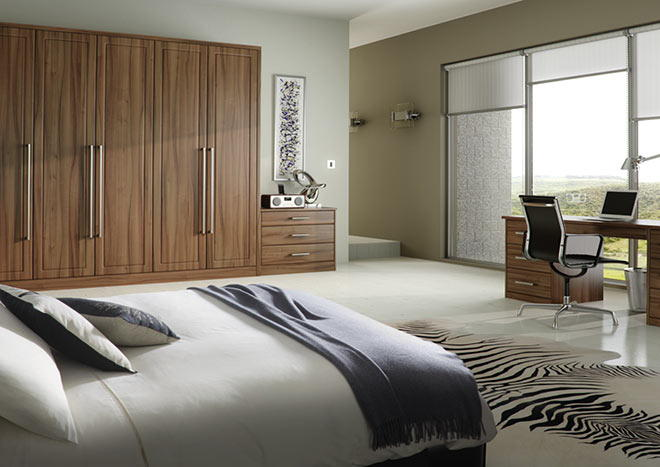 Ashford Opengrain White Bedroom Doors