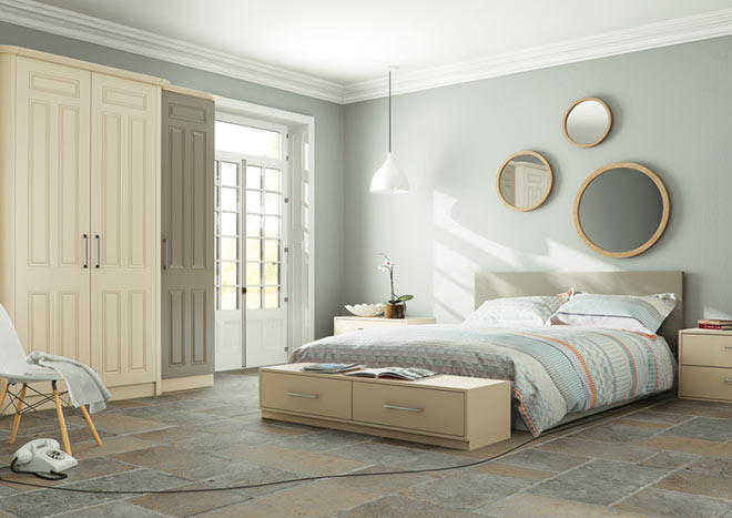 Broadway Matt Graphite Bedroom Doors