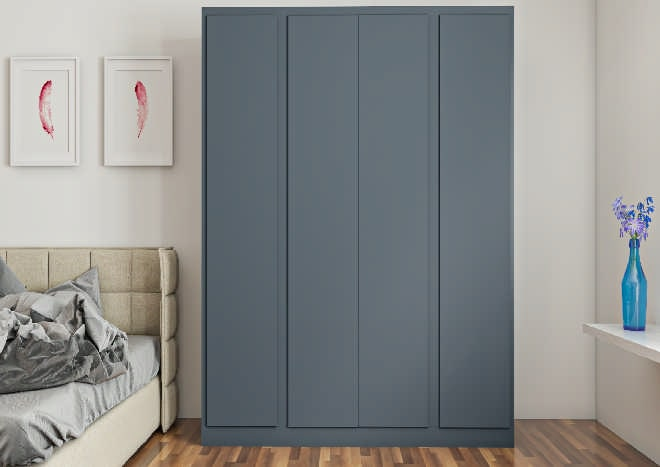 Knebworth Matt Indigo Blue Bedroom Doors