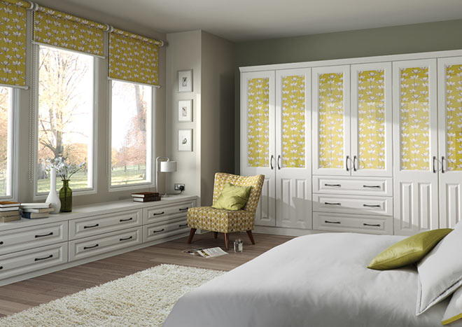 Milano Vanilla Bedroom Doors