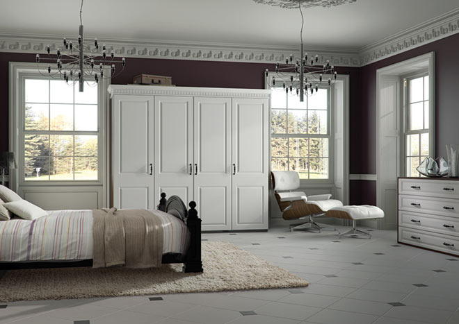 York Opengrain Dark Grey Bedroom Doors