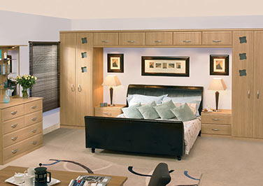 Euroline Odessa Oak Bedroom Doors