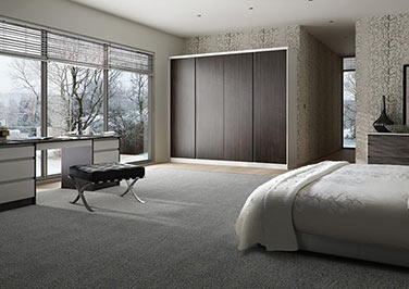 Knebworth Matt Graphite Bedroom Doors