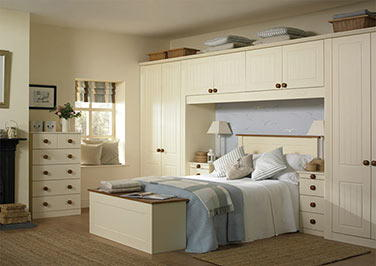 Newport Oakgrain Grey Bedroom Doors