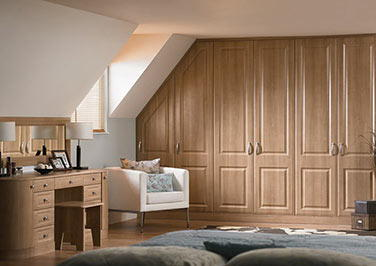Palermo Satin White Bedroom Doors