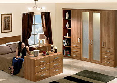 Rimini Avola Cream Bedroom Doors