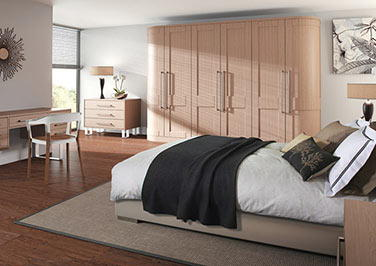 Shaker Matt Cashmere Bedroom Doors