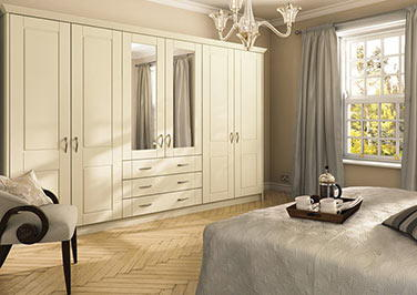 Surrey Oakgrain Grey Bedroom Doors