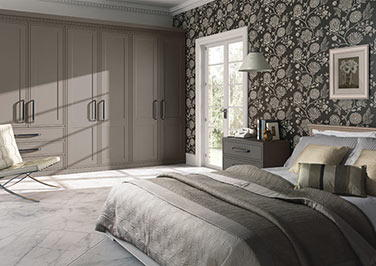 Tullymore Super White Ash Bedroom Doors