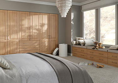 Tuscany Moldau Acacia Bedroom Doors