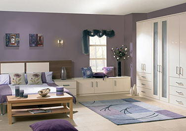Venice Satin White Bedroom Doors