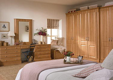 Verona Matt Mussel Bedroom Doors