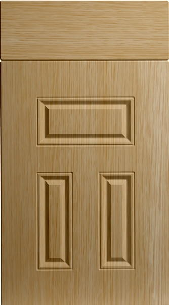 Broadway Natural Oak Kitchen Doors