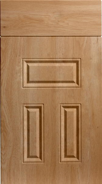 Broadway Odessa Oak Kitchen Doors
