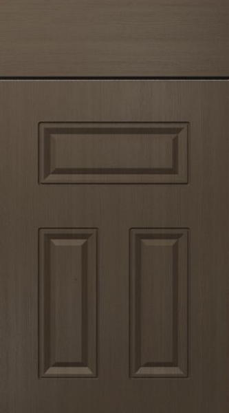 Broadway Opengrain Dark Grey Kitchen Doors