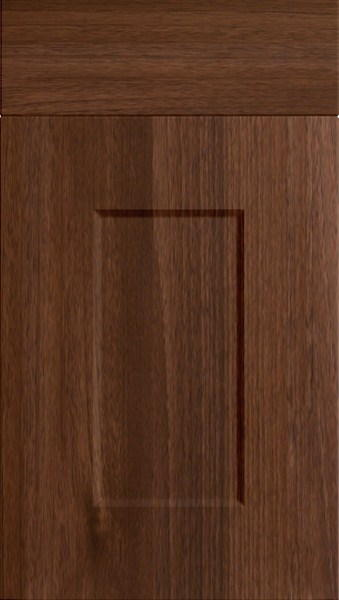 Cambridge Dark Walnut Kitchen Doors