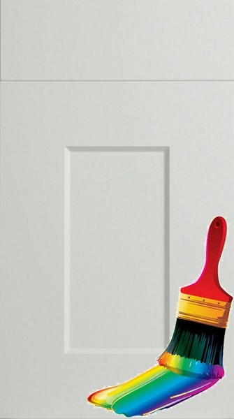 Cambridge Paintable Vinyl Kitchen Doors