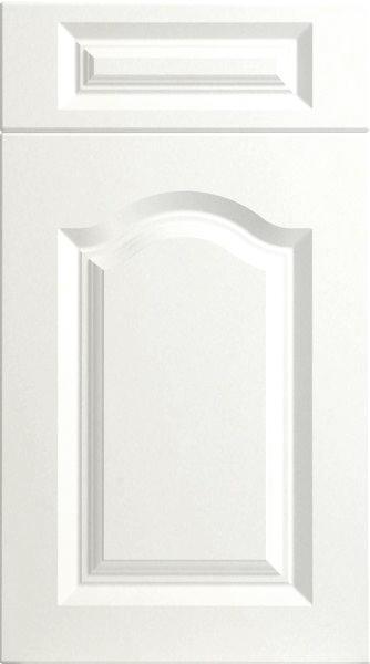White High Gloss Shaker Kitchen Doors: Canterbury High Gloss White Kitchen Doors