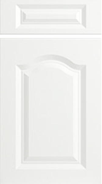 Canterbury Porcelain White Kitchen Doors