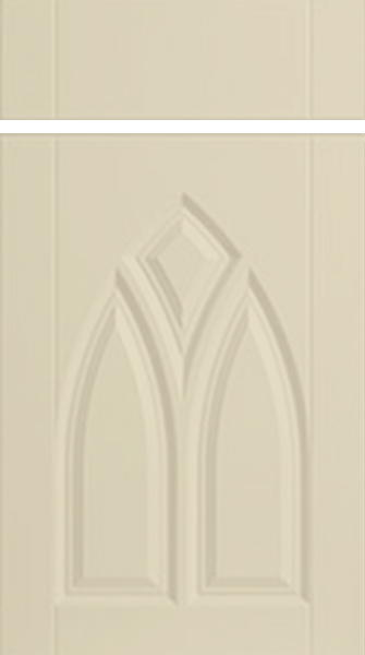 Gothic Ivory Kitchen Doors