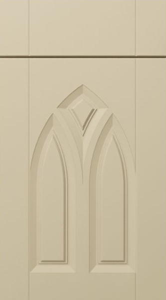 Gothic Matt Cashmere Kitchen Doors