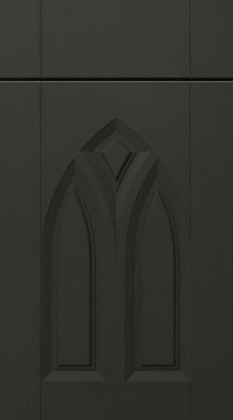 Gothic Matt Graphite Kitchen Doors