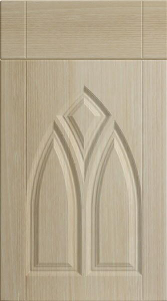 Gothic Moldau Acacia Kitchen Doors