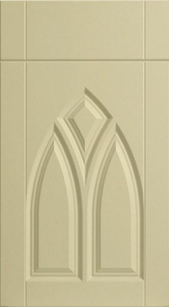 Gothic Oakgrain Cream Kitchen Doors