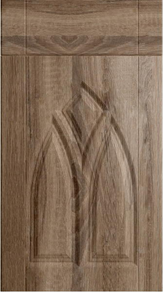 Gothic Sonoma Natural Oak Kitchen Doors